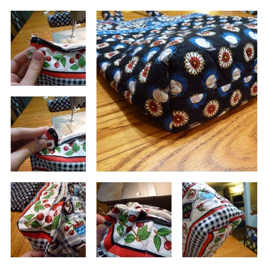 Vera Bradley Bag Tutorial | Fabric Crafts & Sewing Ideas | Pinterest ...