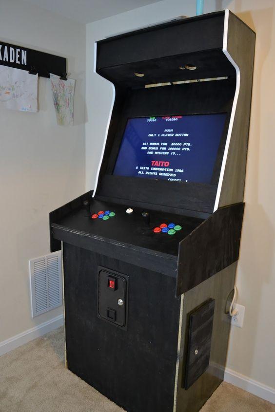How to Build a Custom Arcade Machine | Game Emulator ...