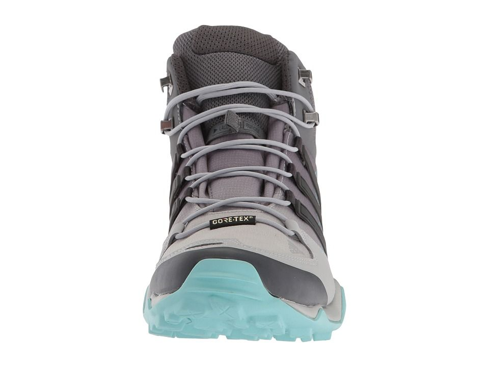 adidas Outdoor Terrex Swift R Mid GTX Women's Shoes Grey Two