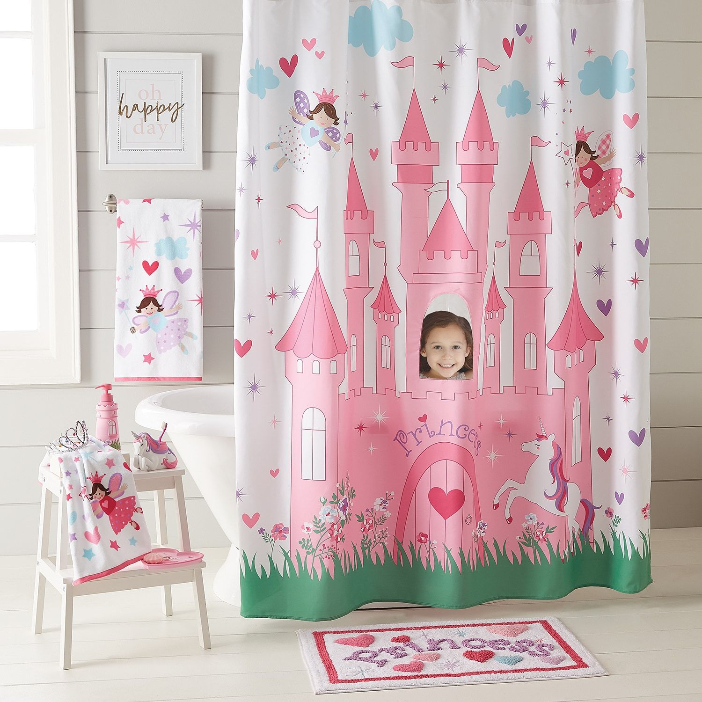 Magical Princess Peek A Boo Shower Curtain Peek Princess
