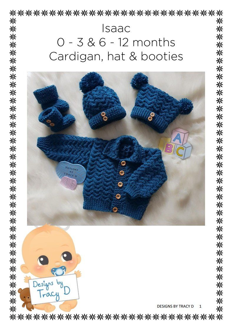 Isaac (Unisex) - Download   Baby knitting patterns, Baby ...