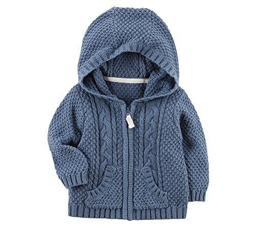 Photo of Carter's Baby Boys' Zip up Cable Knit Cardigan
