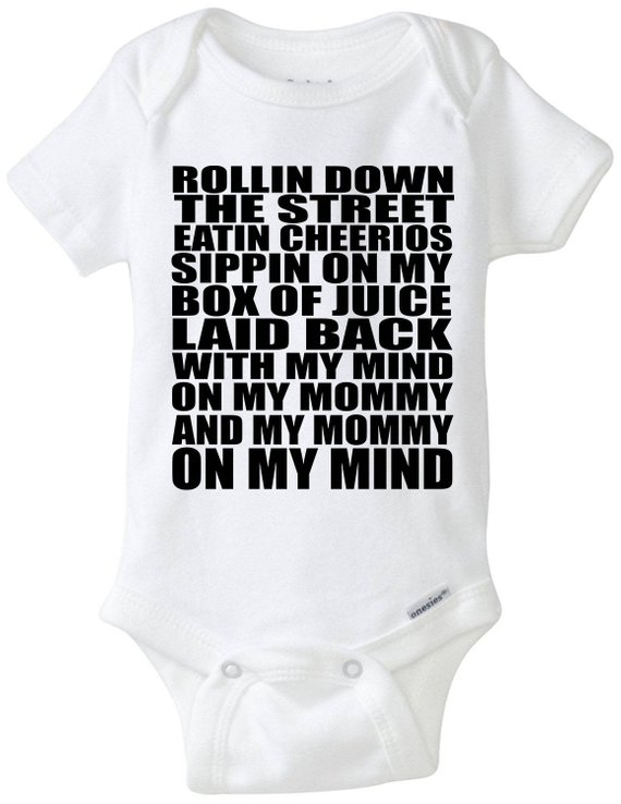 5847f22d3 Gin And Juice Snoop Parody Baby   Infant Onesie - FUNNY! Mind on My ...