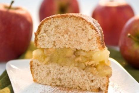 Bolo de canela recheado com geleia de maçã e nozes| Gastronomia e Receitas - Yahoo Mulher