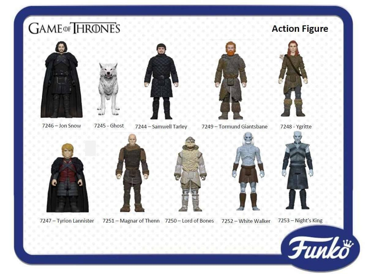 White Walker Game of Thrones Action Figure 3.75 inch by Funko
