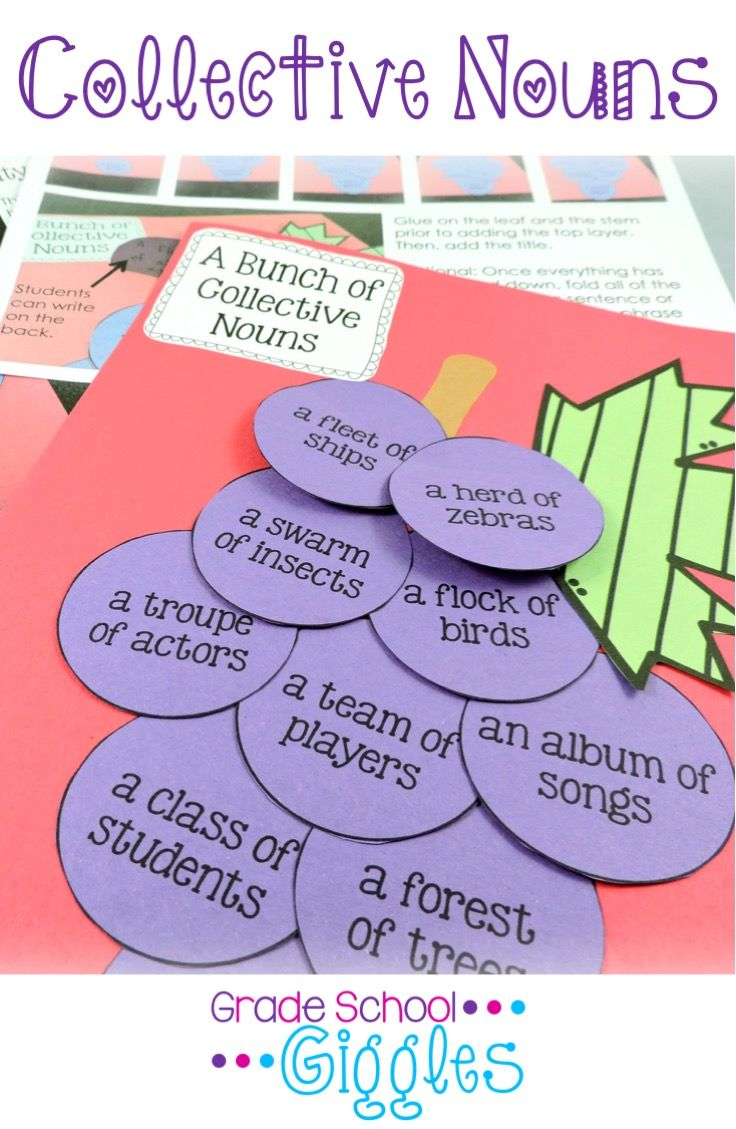 Collective Nouns - This unit makes it easy to teach and easy to ...