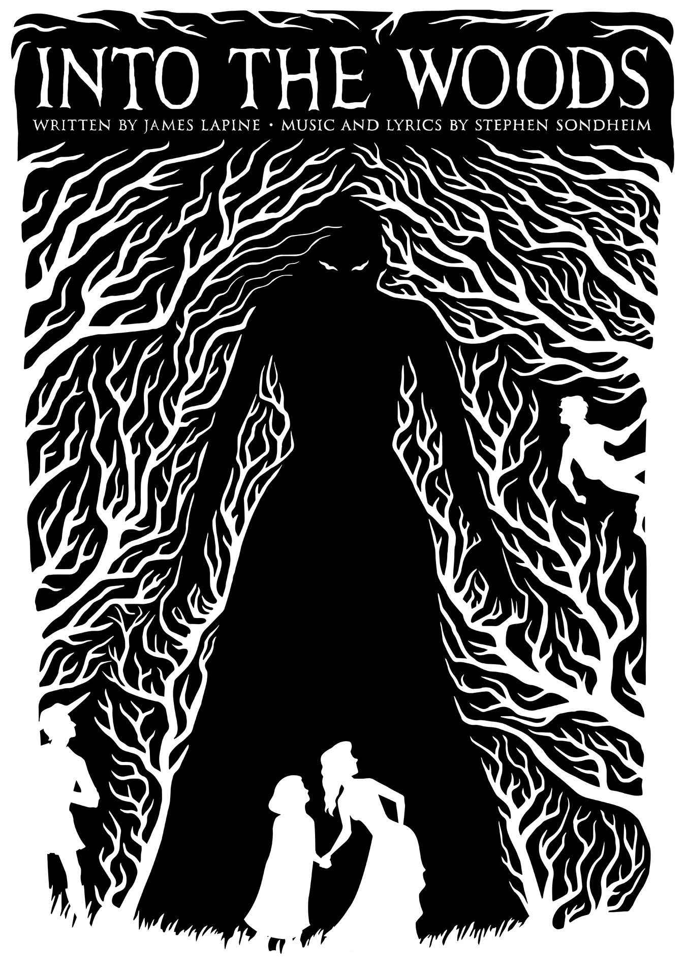 Into The Woods Naomi Giddings Wood Illustration Into The Woods Musical Wood