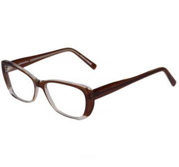 e93968afa Otica Ventura Oculos De Grau Marrom E Transparente. - Otica ...