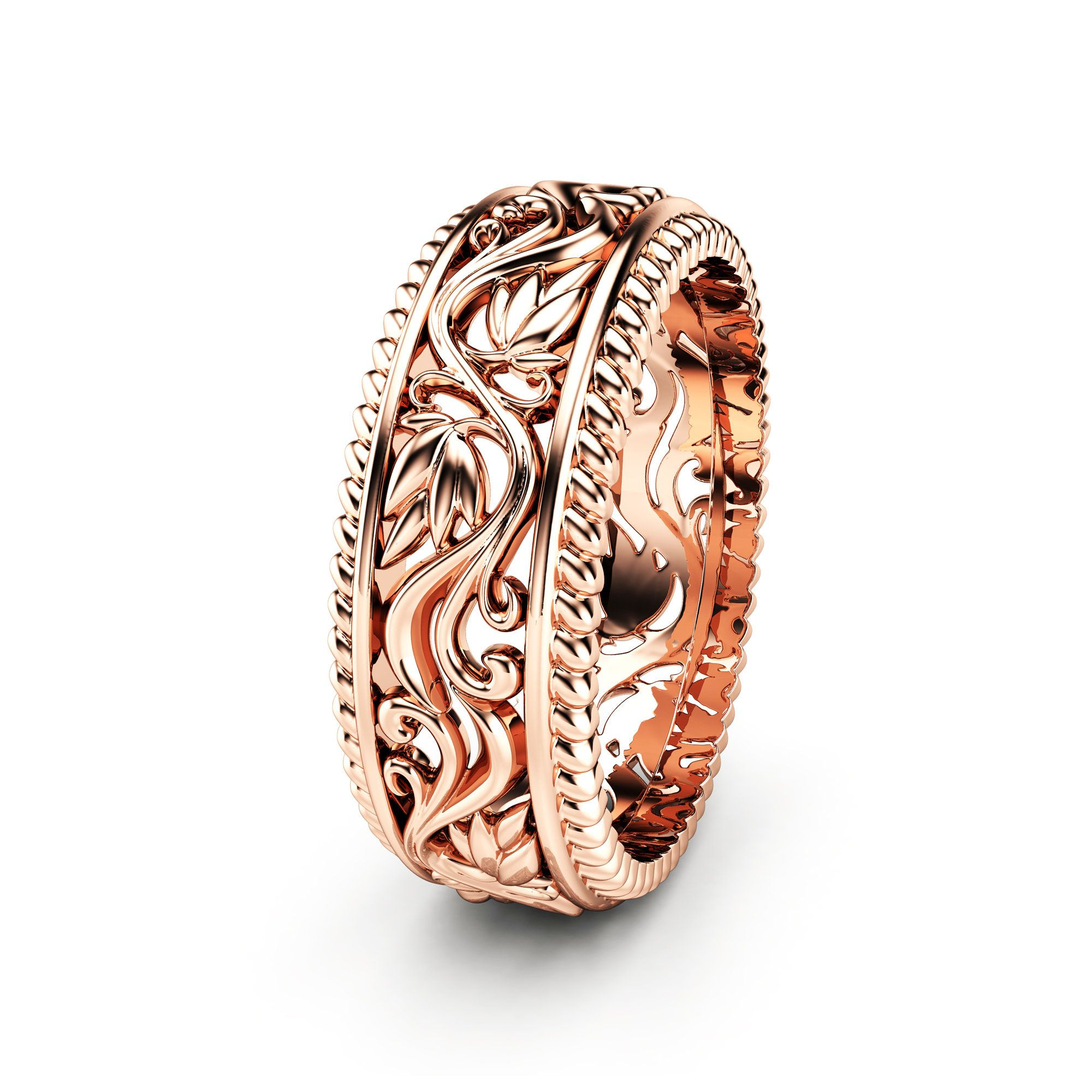 Women Wedding Band Unique Wedding Ring Gold Wedding Ring Now On Sale For Only 790 00 Don T Miss T In 2020 Wedding Rings Unique Womens Wedding Bands Gold Wedding Band