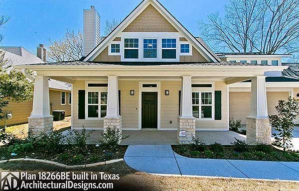 Plan 18266be Storybook Bungalow With Screened Porch