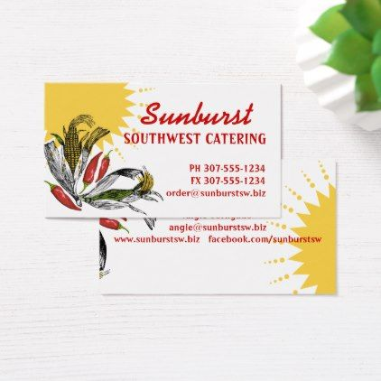 Mexican food southwest corn pepper chef catering business card chef mexican food southwest corn pepper chef catering business card reheart Gallery
