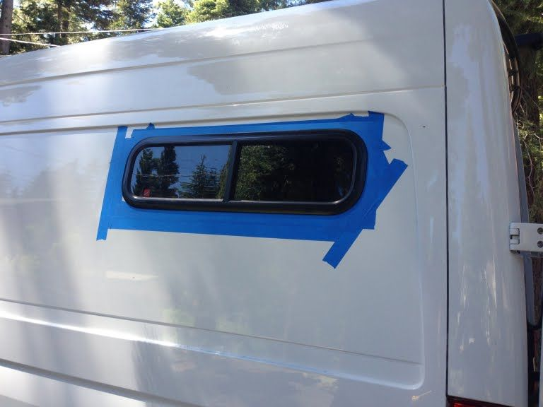 How To Install Rear Windows In A Sprinter Conversion