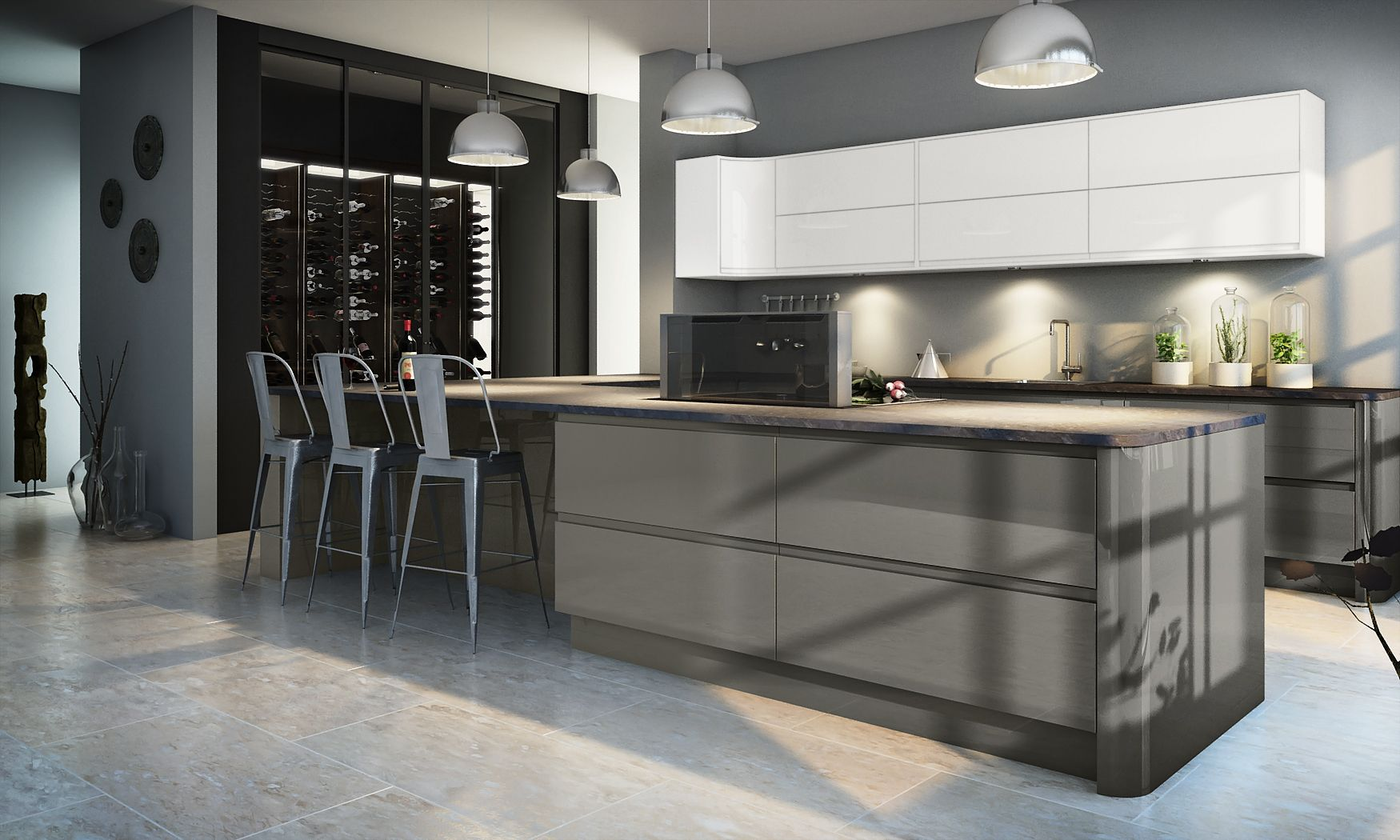 just one of our many contemporary kitchens that we offer