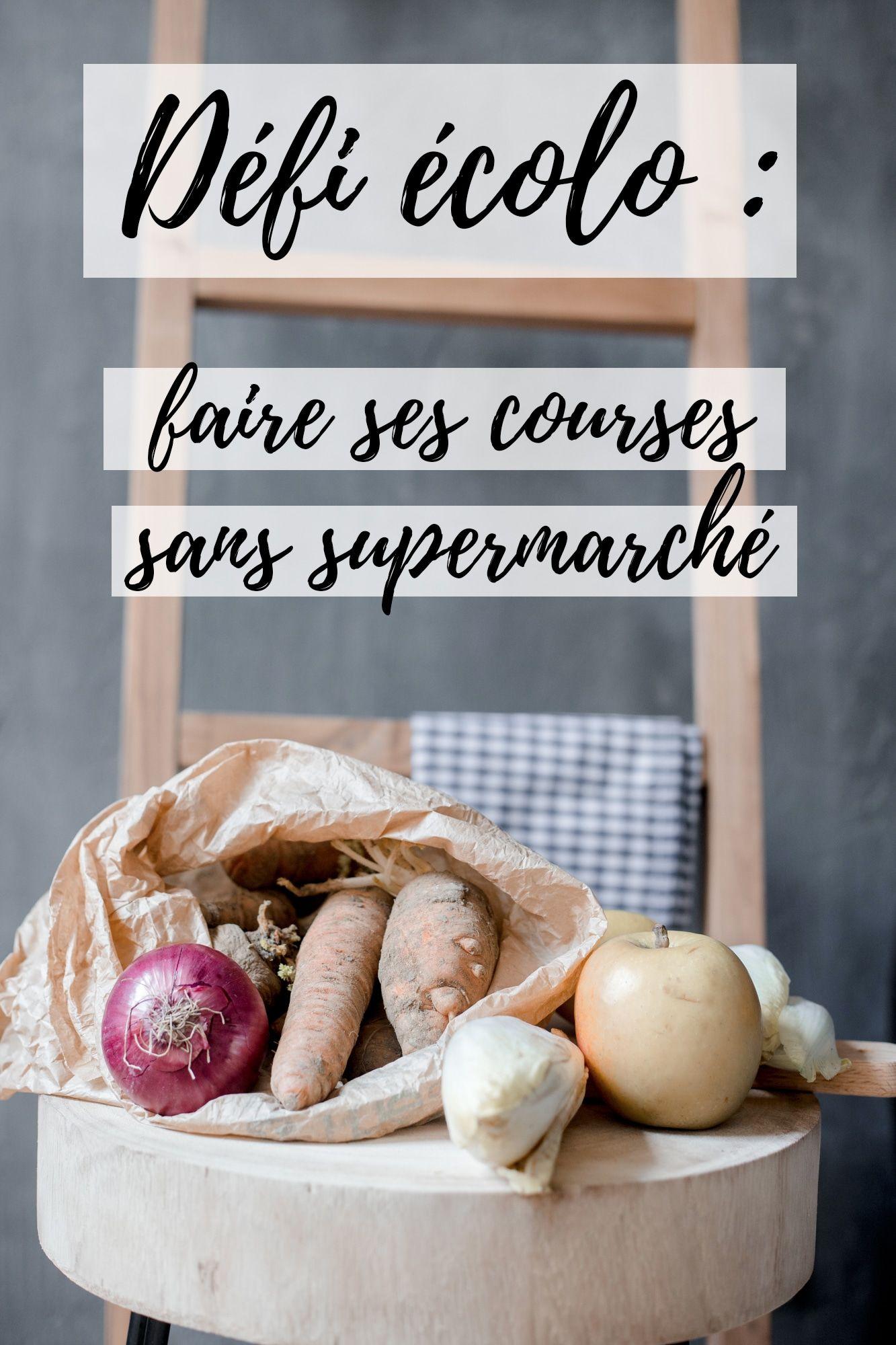 Defi Fevrier Sans Supermarche Zero Dechet Defis Aliments Bio