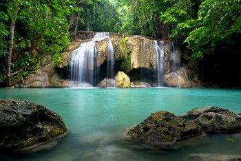 Vlies Fotobehang Watervallen Thailand Pictures For Spa Pinterest