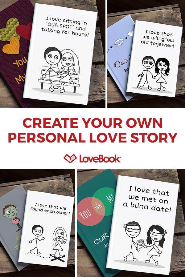LoveBook is the most unique personalized gift idea you could ever give to someone you love. Create your own personalized book of reasons why you love ...  sc 1 st  Pinterest & LoveBook is the most unique personalized gift idea you could ever ...