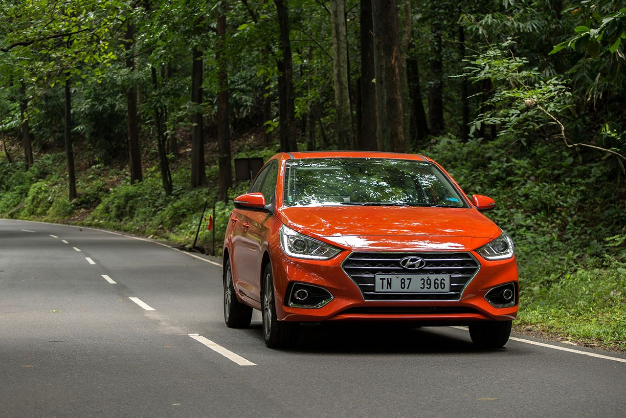 Next Gen Hyundai Verna Aka Hyundai Accent Receives Record Export Order From The Middle East Hyundai Accent Hyundai Mid Size Car