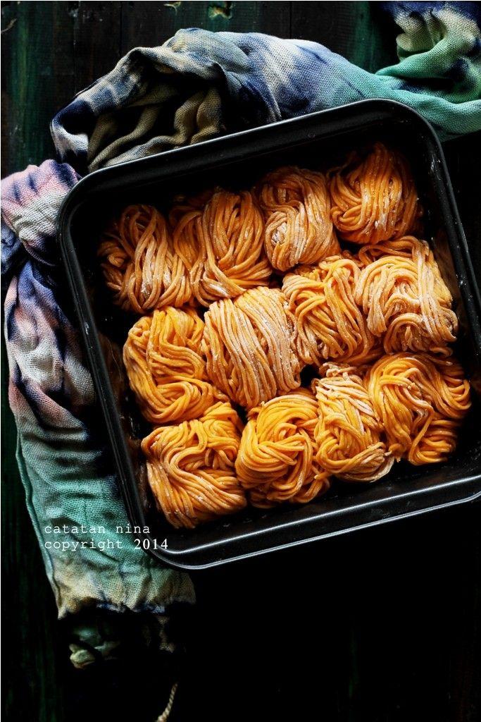 Catatan Nina Mie Wortel Orange Homemade Makanan Sehat Resep Makanan Asia Resep Masakan