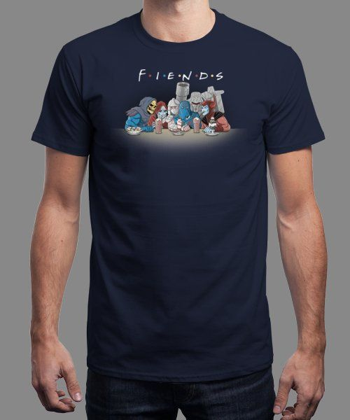 """FIENDS"" is today's £9/€11/$12 tee for 24 hours only on Pin this for a… 