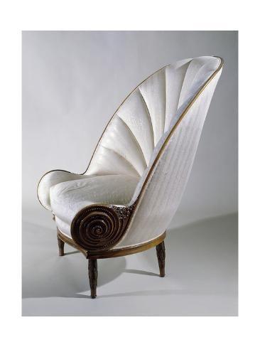 'Art Deco Style Armchair, Ca 1913' Giclee Print - Paul Iribe | Art.com