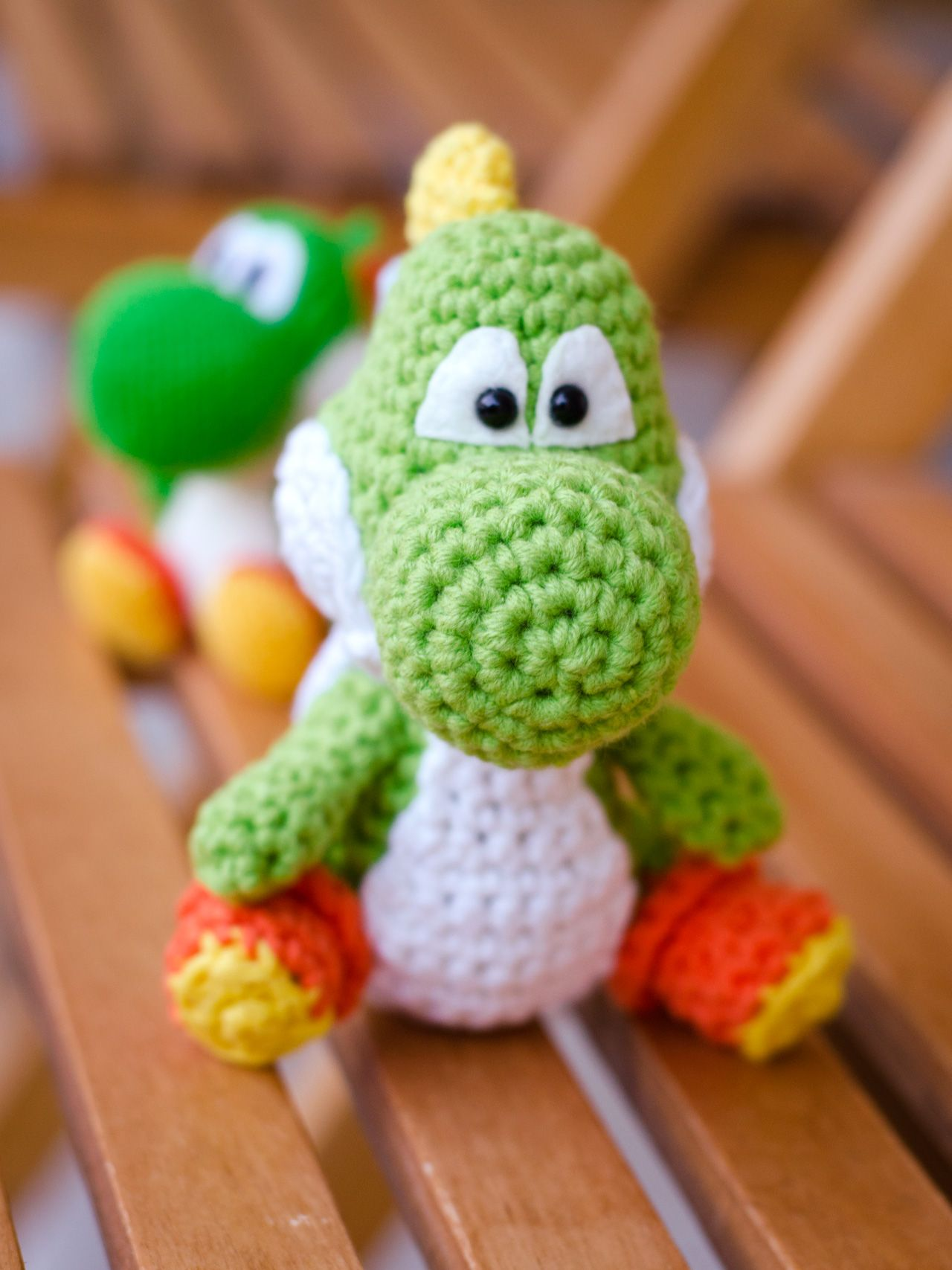 Yoshi Amigurumi Free Pdf Pattern In German And English Rund Ums