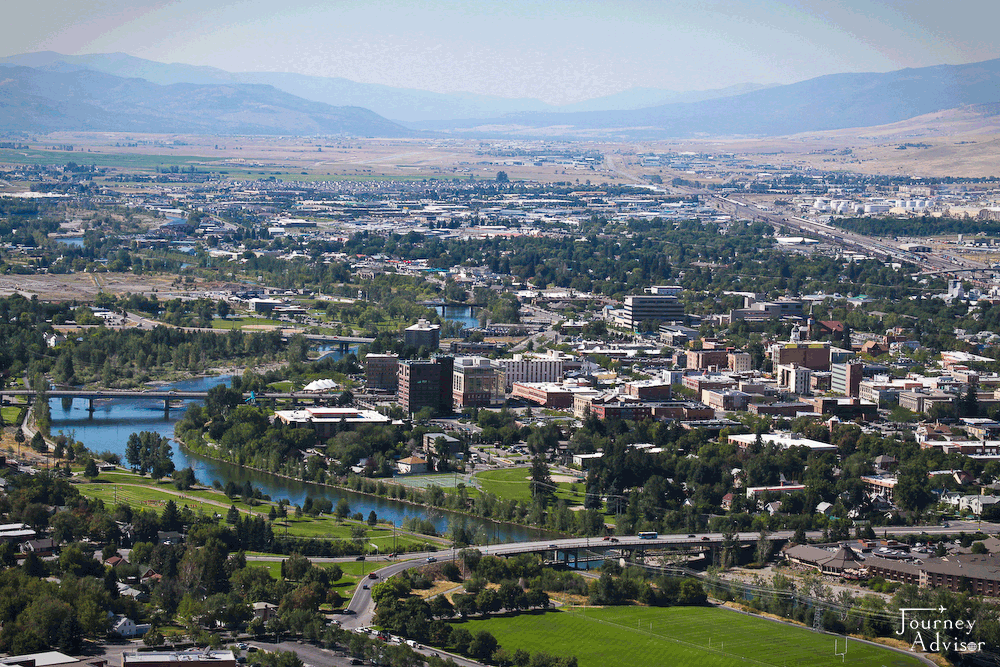 Located Along The Clark Fork River Missoula Is The