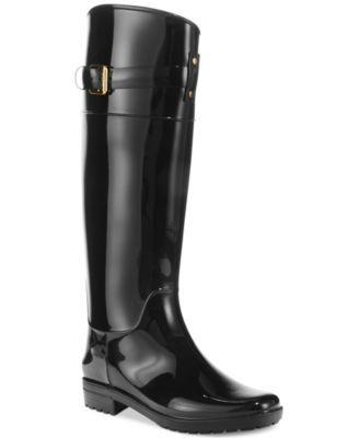 ecc8429b858 Lauren Ralph Lauren Women's Rossalyn II Rain Boots | macys.com | My ...