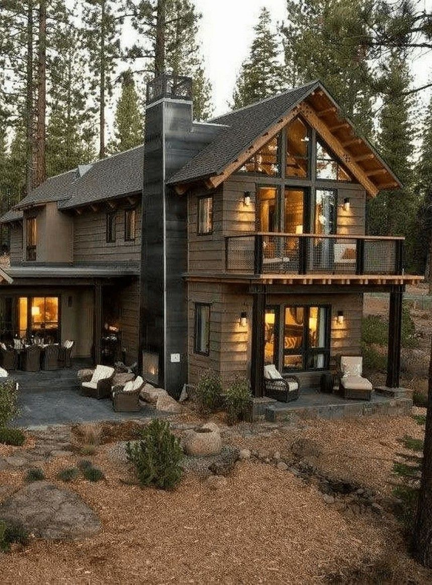 35 Awesome Tiny House Plans Small Cottages Design Ideas 31 Houseplansideas Modernfarm In 2020 Cottage House Exterior Rustic Houses Exterior Modern Farmhouse Exterior