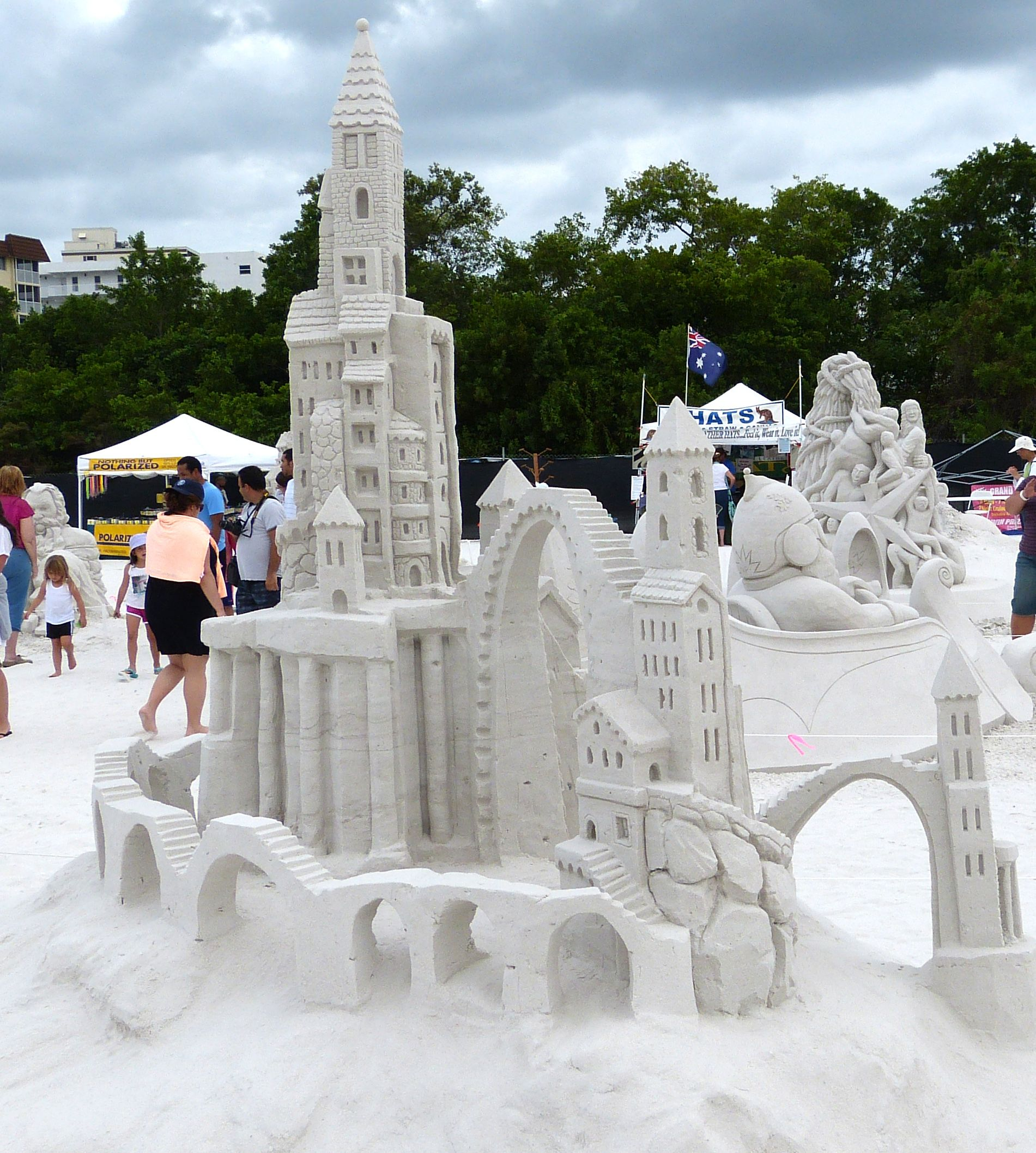 2017 Fort Myers Beach Sand Sculpting Championships