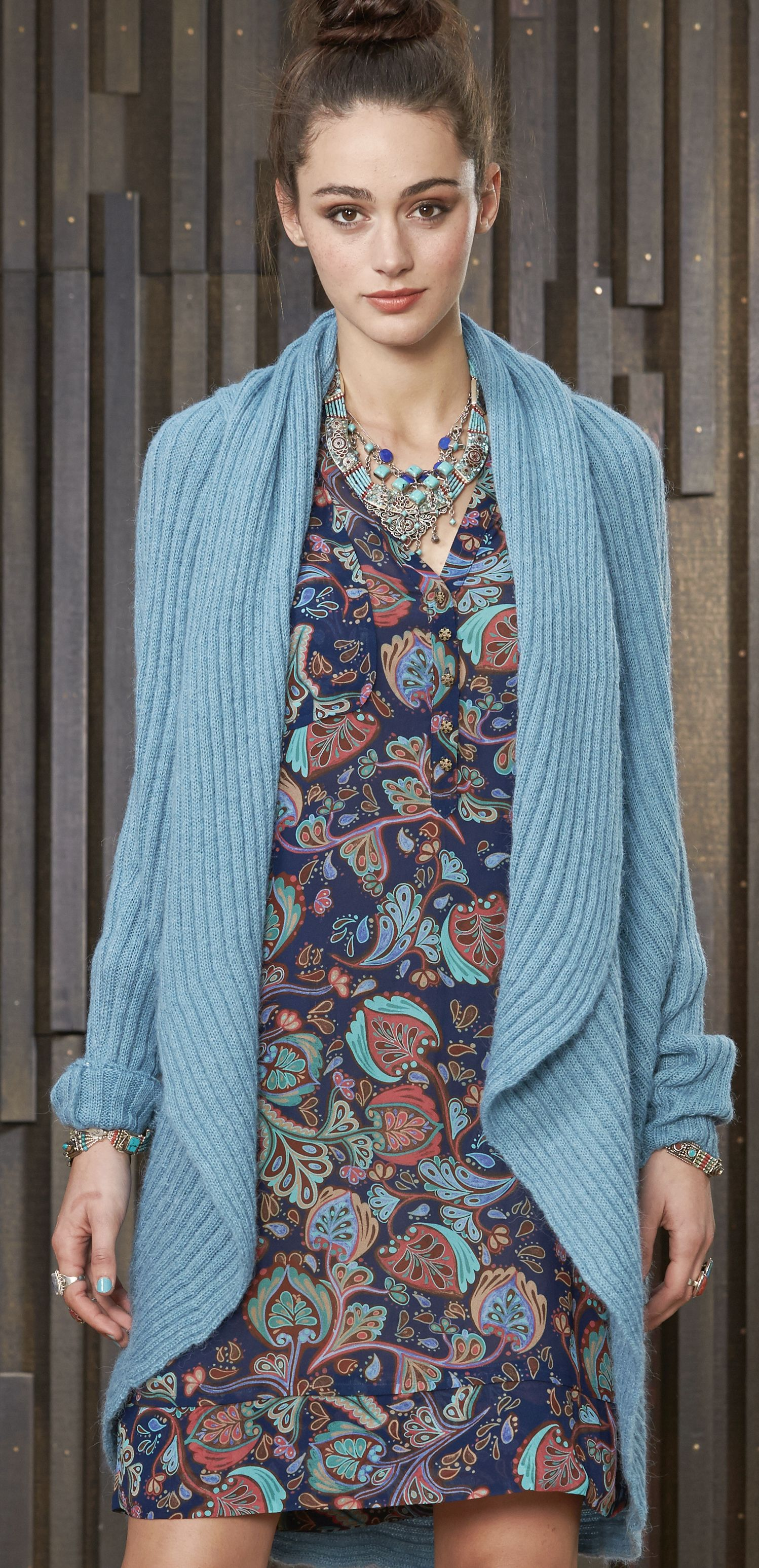Colourful cardigan to match the perfect print dress   Fantastic ...