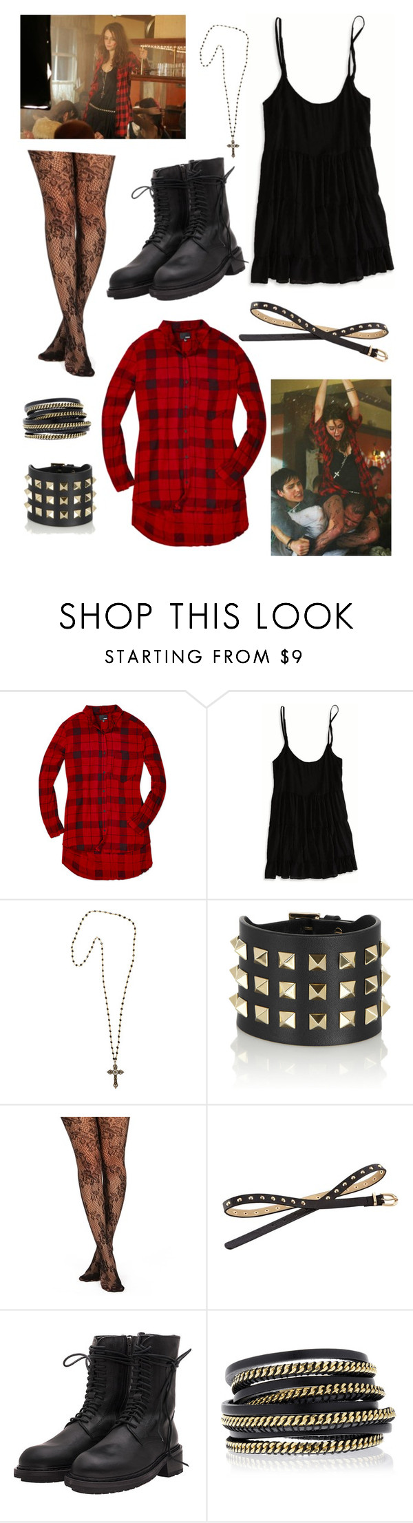 """""""Effy x stonem x"""" by oliviamorrisseybeatle ❤ liked on Polyvore featuring Effy Jewelry, Wilfred Free, American Eagle Outfitters, Heather Gardner, Valentino, Red Herring, Ann Demeulemeester and LK Designs"""
