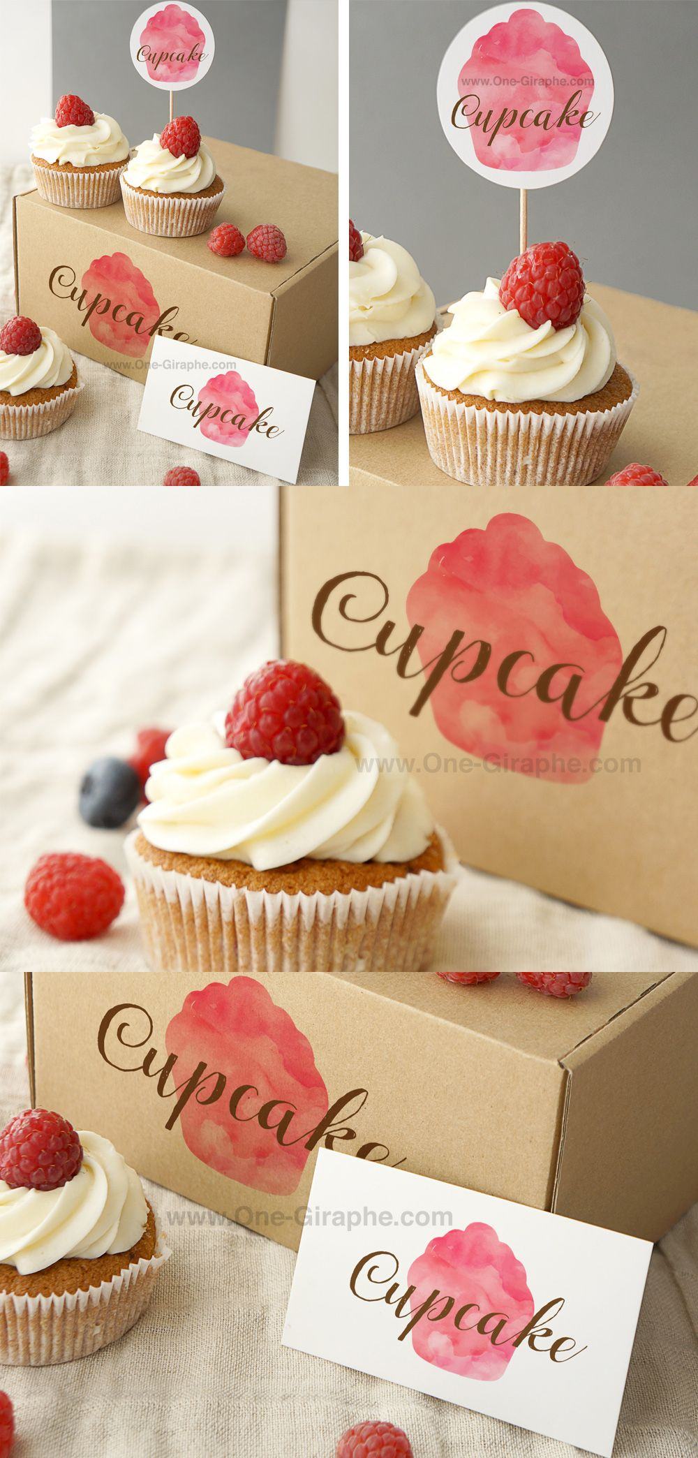 Cupcake logo for sale 199 Attention NonExclusive