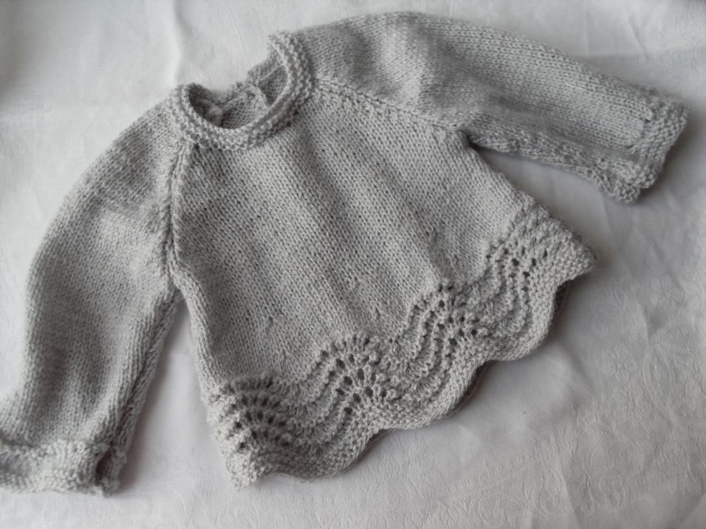 modele tricot bebe brassiere