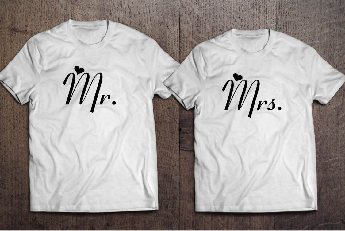 Bride and Groom Shirts. Wedding Shirts. Couples Shirts. Mr and Mrs Shirts. Wedding Gifts. Bride Shirt. Groom Shirt. Honeymoon Shirts