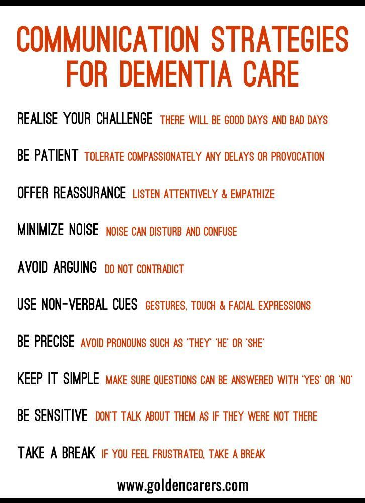 10 Communication Strategies For Dementia Care