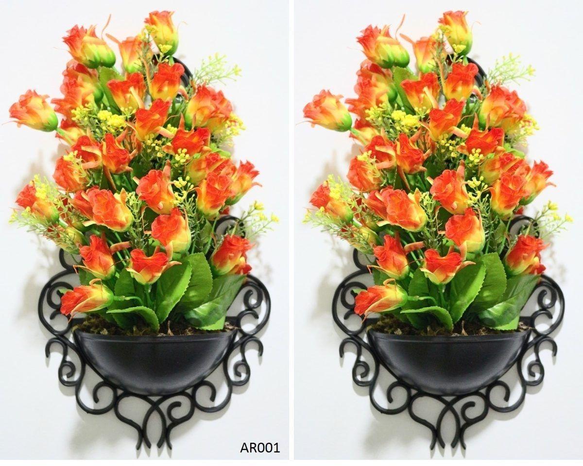 Planta De Chao Artificial Vaso Madeira 90 Centimetros 003