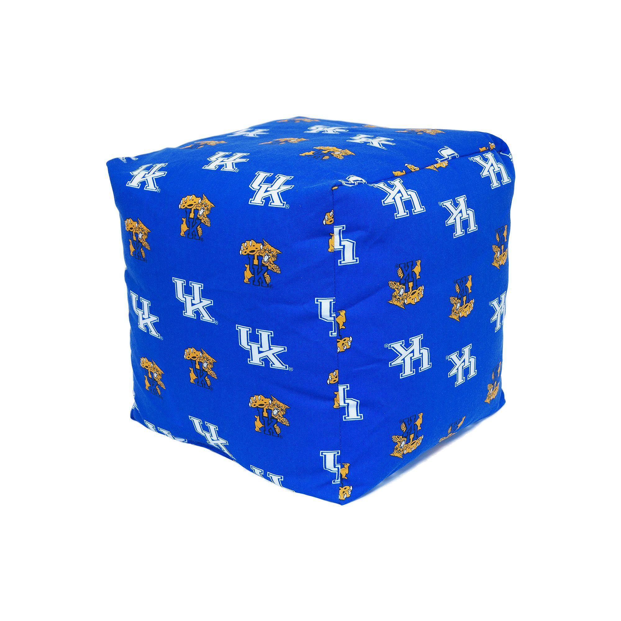 Kohl\'s Kentucky Wildcats Cushion Cube Pouf