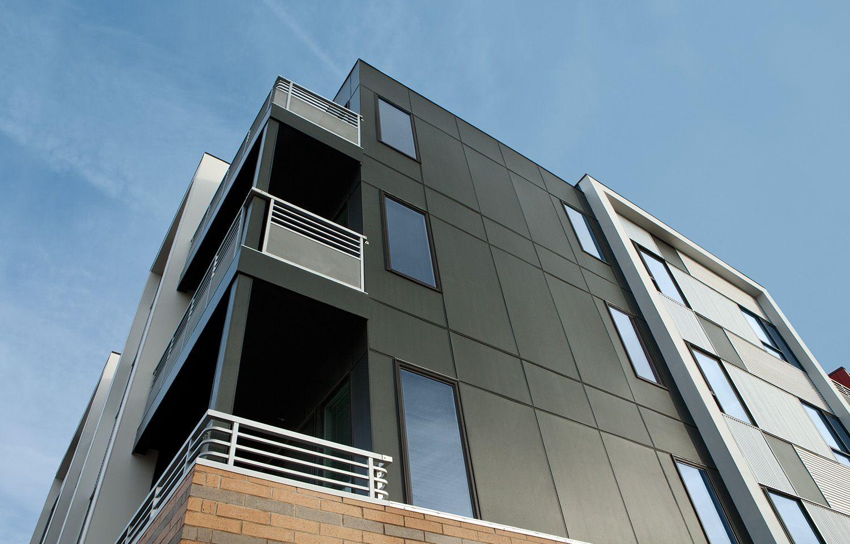 Allura fiber cement siding photo gallery architecture for Exterior building materials