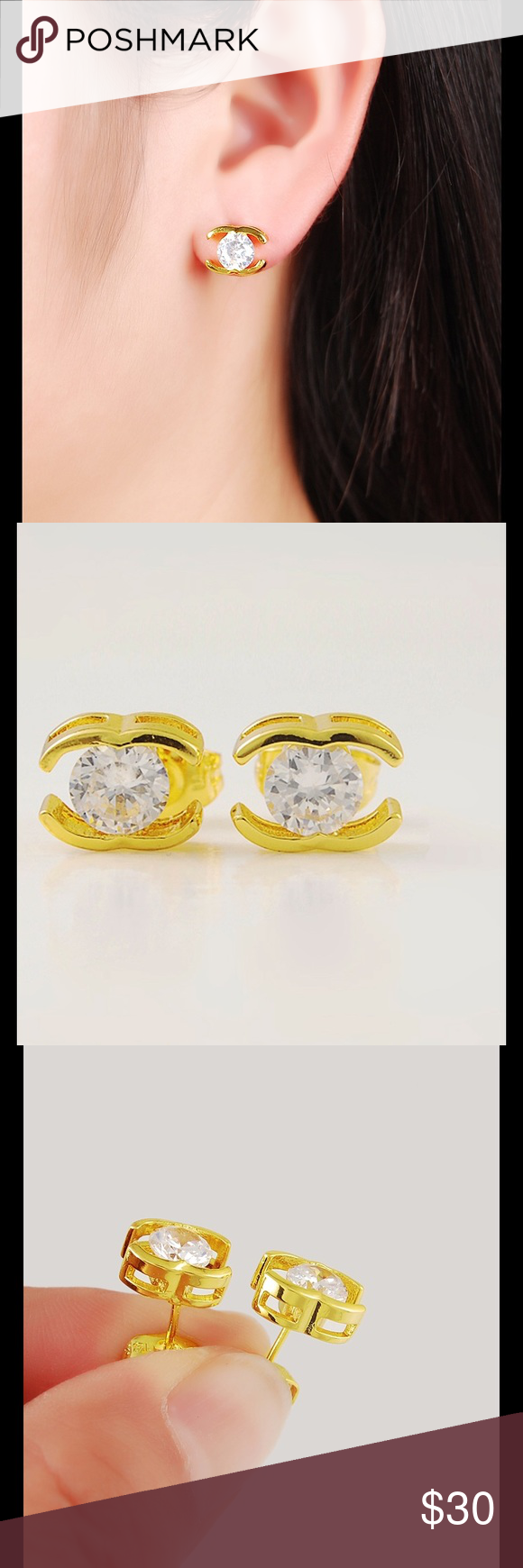 Beautiful Gold Earrings | Gold, Ea and Customer support