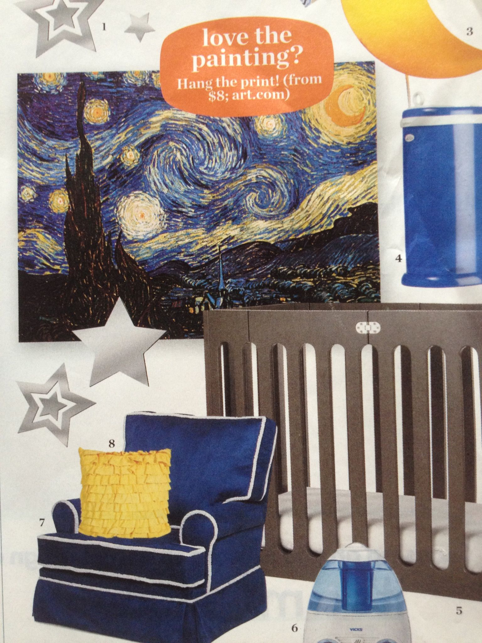 starry night bedroom would love to do