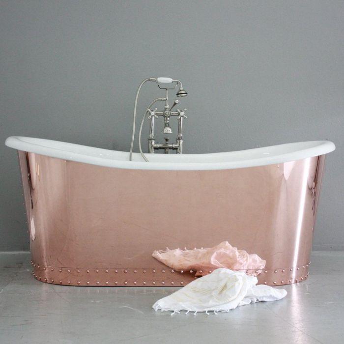 Copper Ring On Bath Tub Faucet
