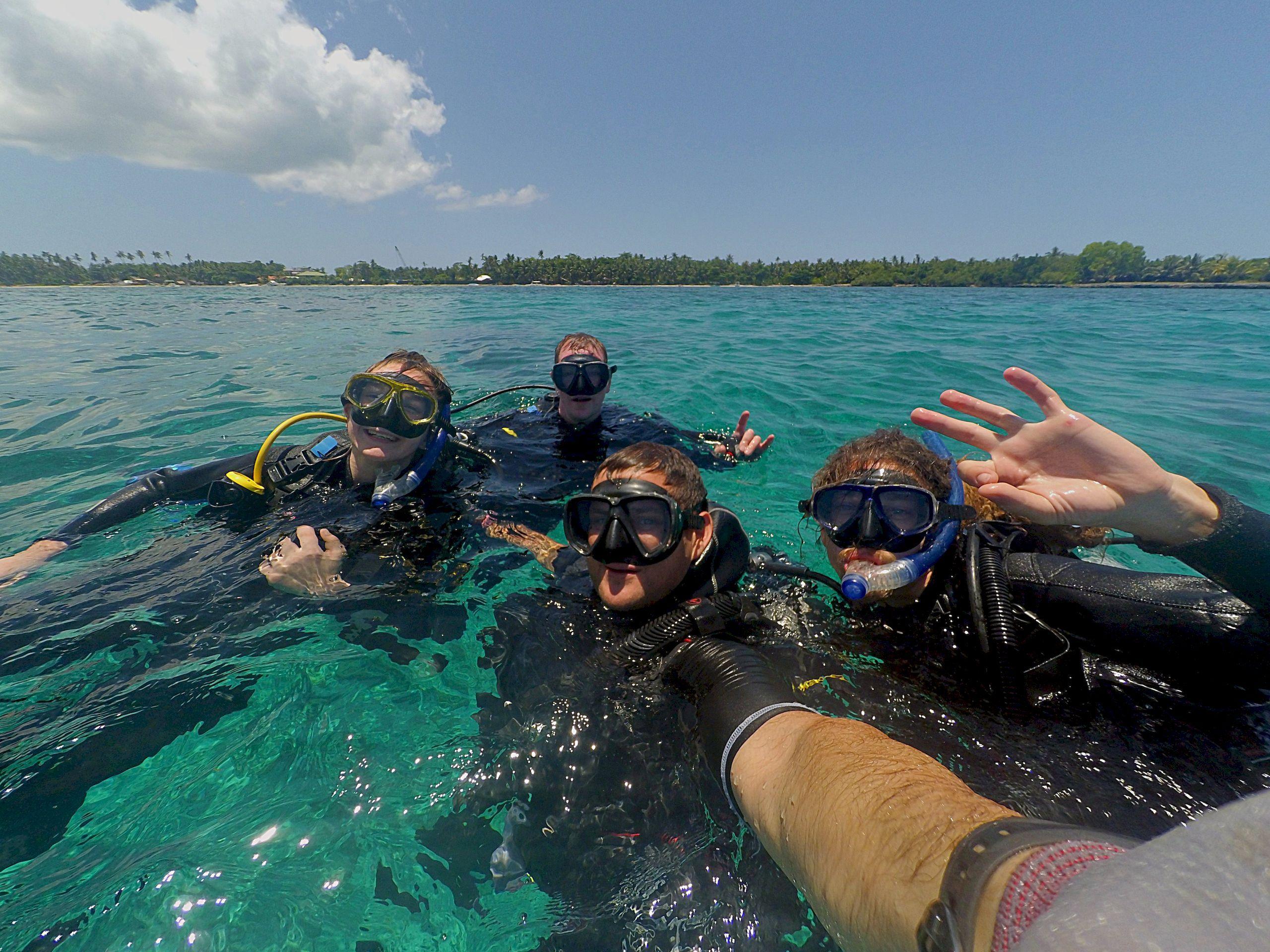 Family Scuba Diving