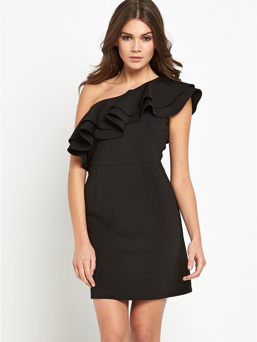 Ruffle shoulder mini dress httplittlewoodslavish ruffle shoulder mini dress httplittlewoodslavish ombrellifo Image collections