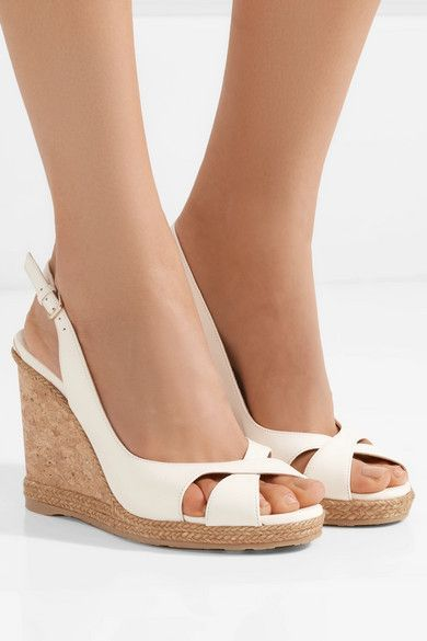 Jimmy choo Women's Amely Slingback Wedge Sandal