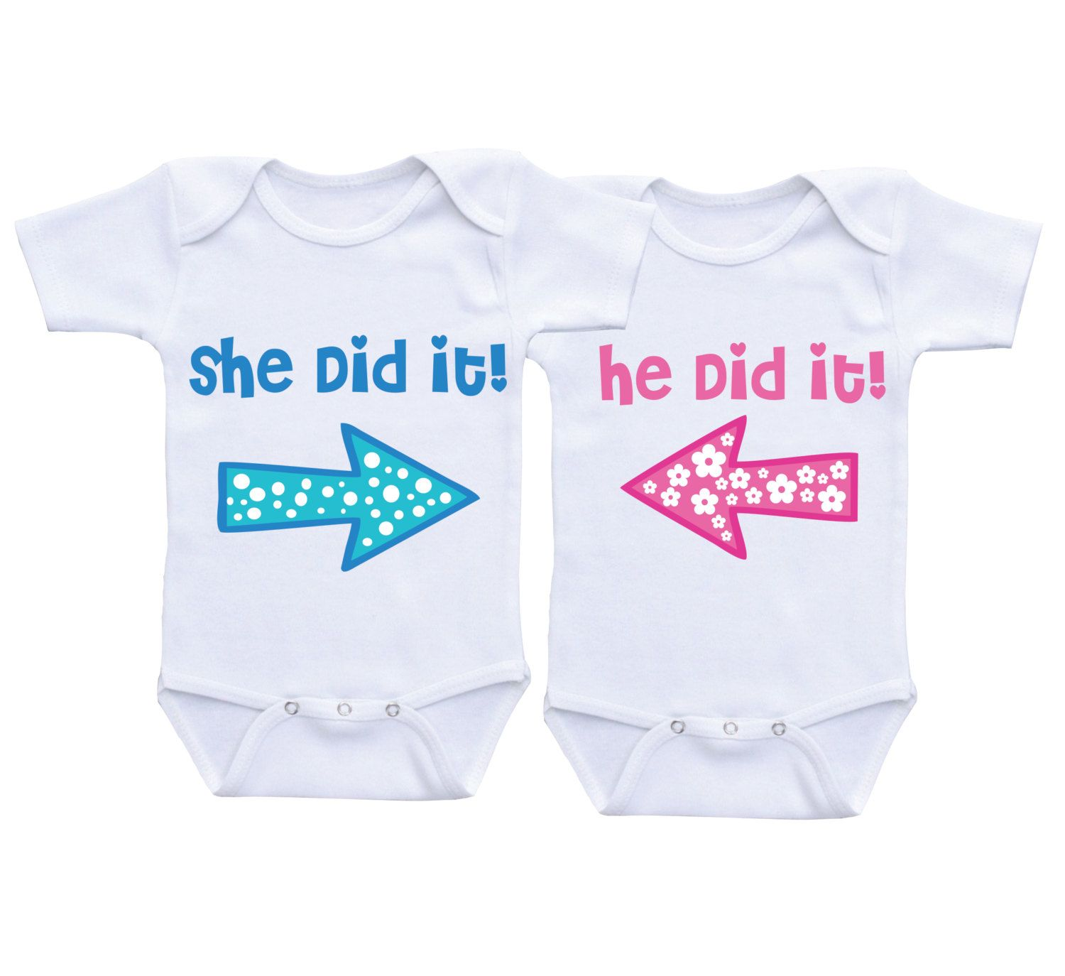 0478ac452ba Twins Costume Funny Twin Onesies Twin Matching Outfit