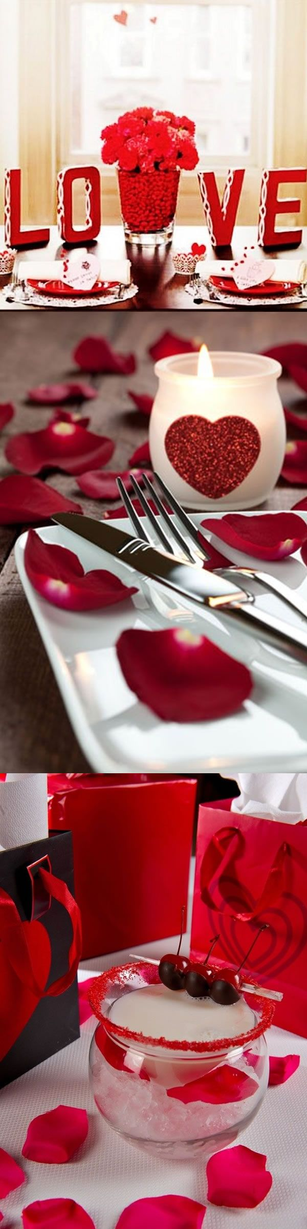 Valentine 39 s day dinner ideas rose love 2014 valentine for Valentines dinner party ideas