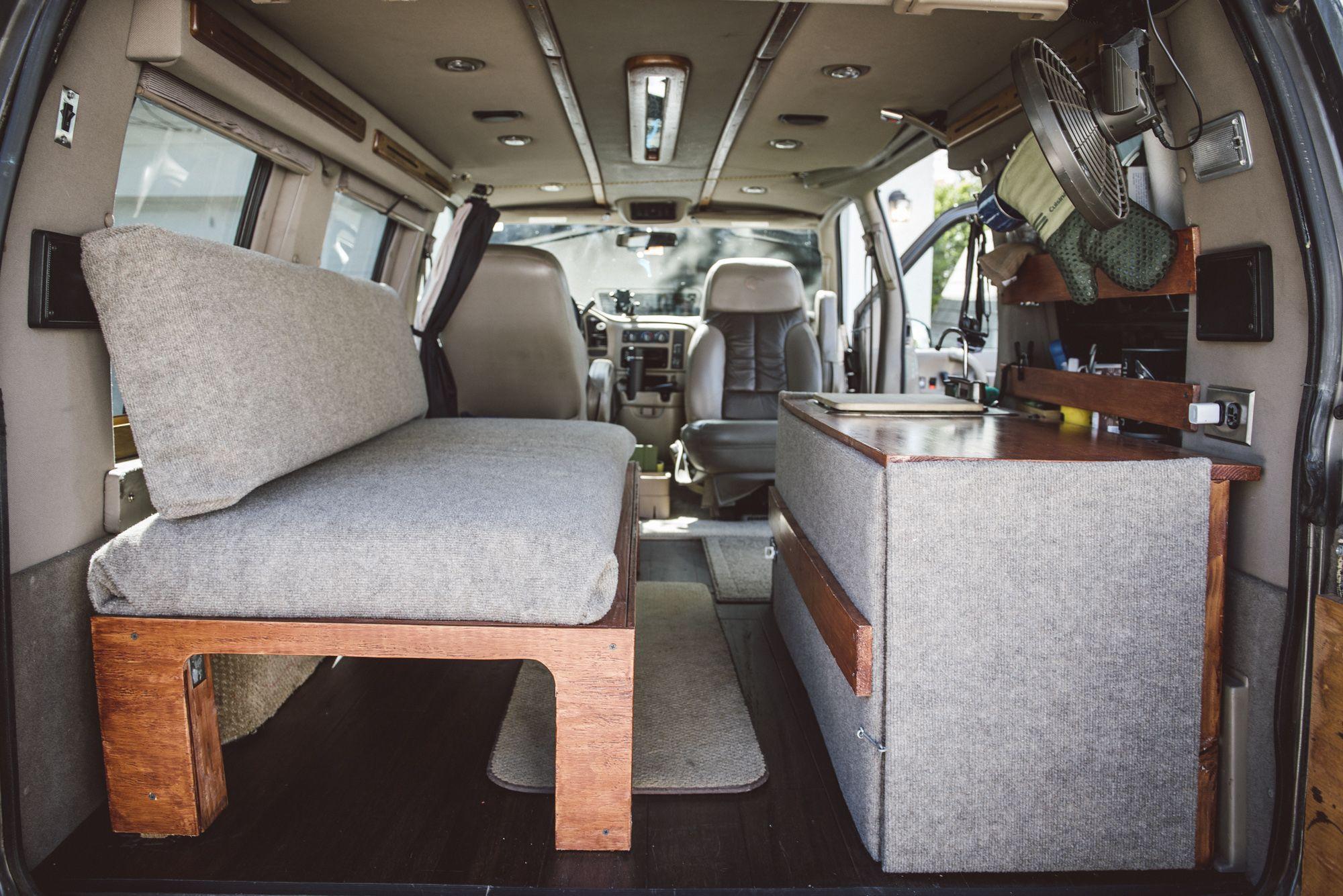 Lifted Astro Van Conversion