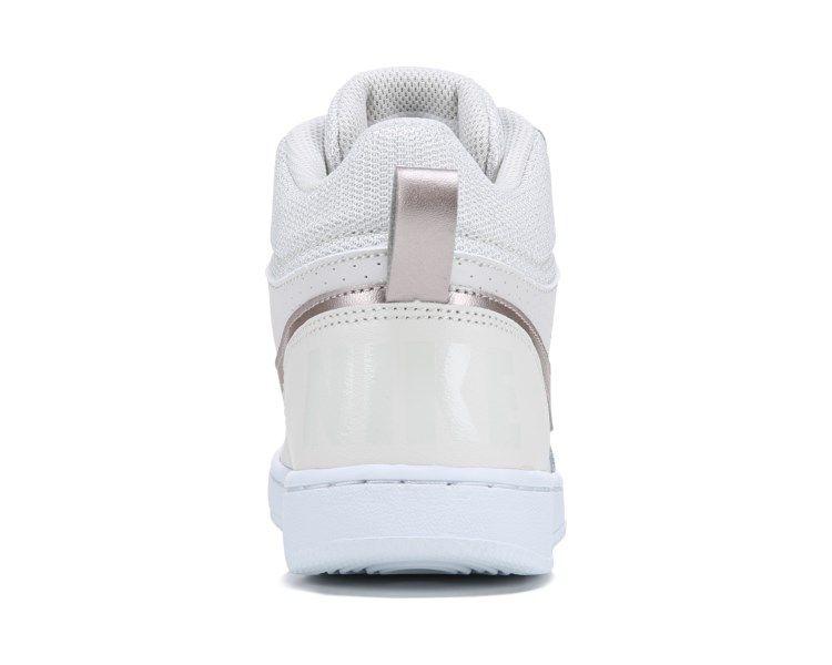 pretty nice 11b80 ef389 Nike Court Borough Mid Top Sneaker Grade School CreamBronze