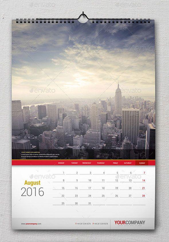 21 best calendar templates for 2016 design pinterest calendar