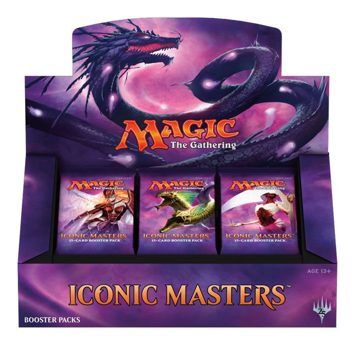 MTG Sealed Booster Packs 19109: Magic: The Gathering Mtg Iconic